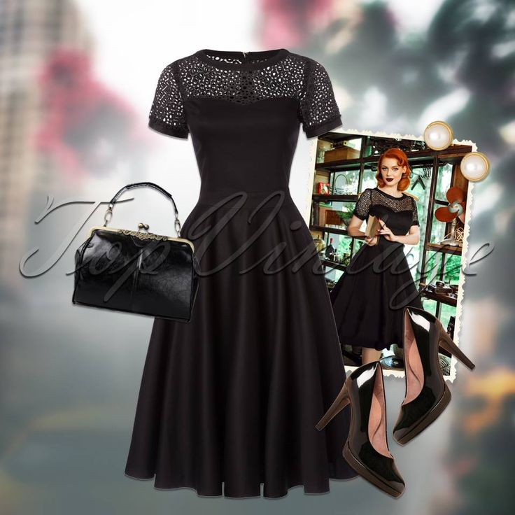Dress to impress in this classy fifties look!