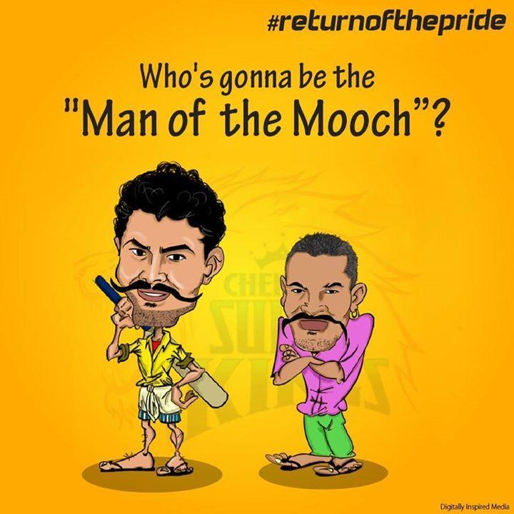 IPL Campaign- #whistlepodu #returnofthepride #csk #SRH #orangearmy