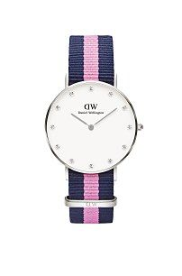 dámske hodinky Daniel Wellington Classy Winchester Silver 0962DW