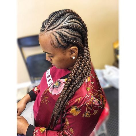 cool 30 Cornrow Hairstyles for Different Occasions Get