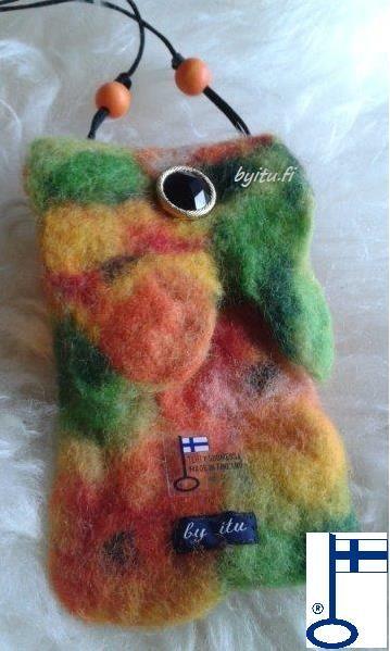 kännykkäpussukka, silmälasikotelo