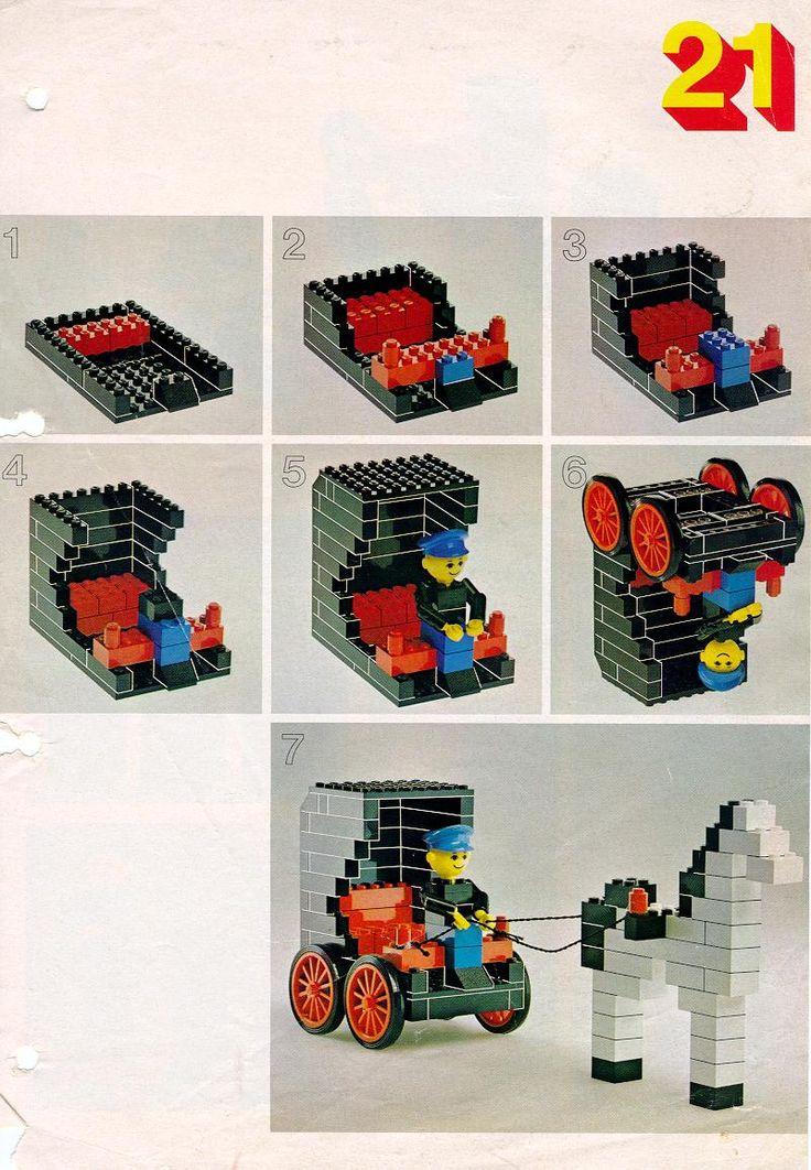 Kutsche aus Lego - Bauanleitung