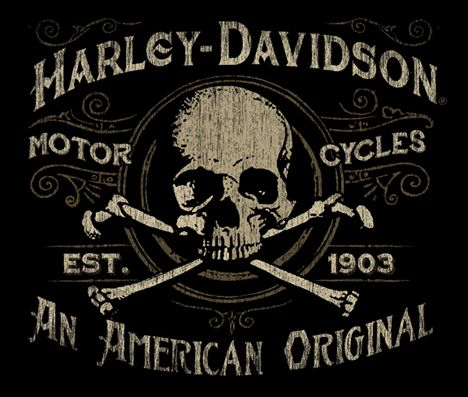 #harley #skull #illustration                                                                                                                                                                                 Más