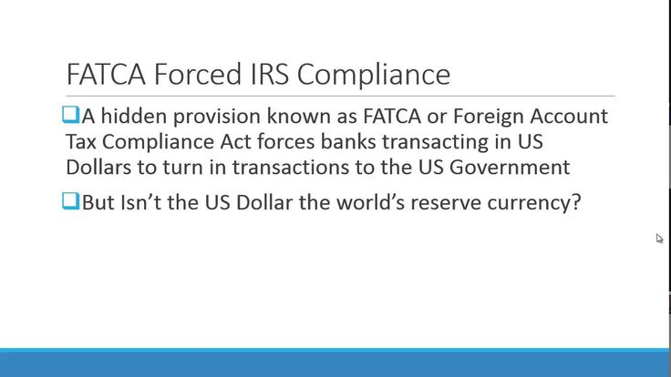 A brand new legislative congressional law known as H.R. 2847 with a hidden addendum identified as FATCA is a desperate try of bureaucrats in desperate instances to watch over itself. Study how the protected law identified as the Foreign Account Tax Compliance Act could be disastrous for us and the economic progress. http://www.juanflorez.com/blog/h-r-2847-law-desperate-moves-of-desperate-governments-what-is-the-big-fuzz