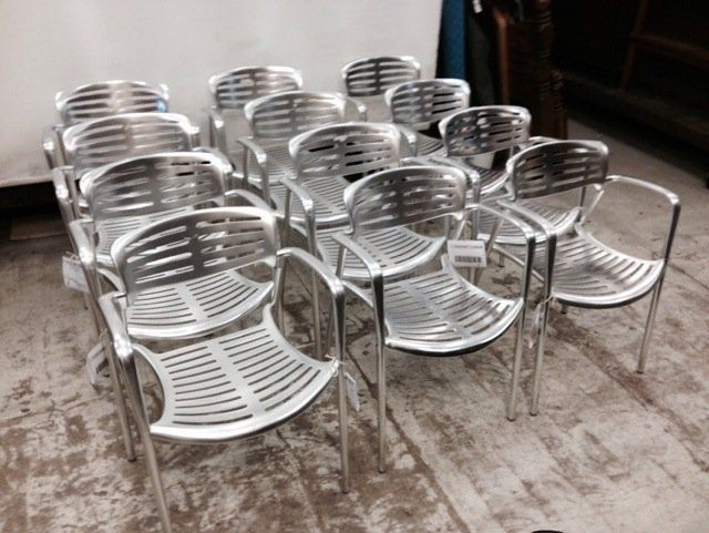 Toledo stacking chair by Jorge Pensi for Amat