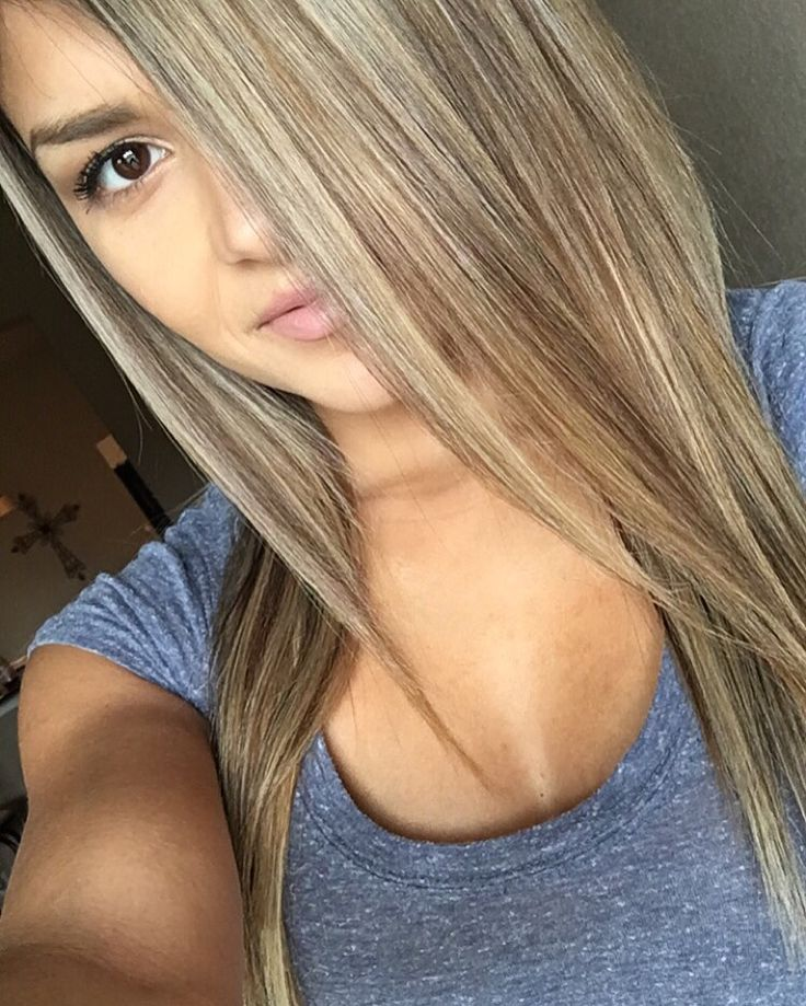 Heavy blonde highlights ❤️