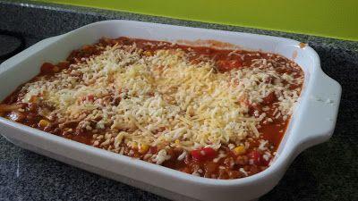 Elke Hap: Taco Lasagne