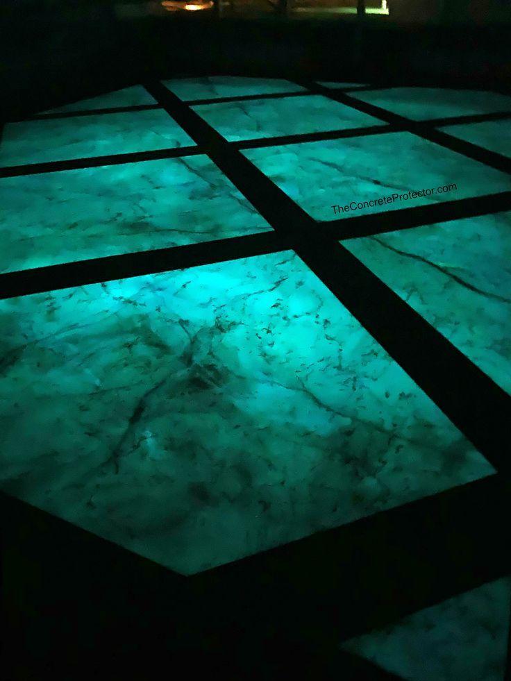 Glow In The Dark Metallic Marble Epoxy Office Floor Wapakoneta Oh Concrete Decor Concrete Epoxy Glow In The Dark