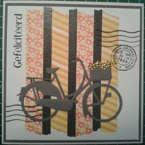 Gefeliciteerd - fiets