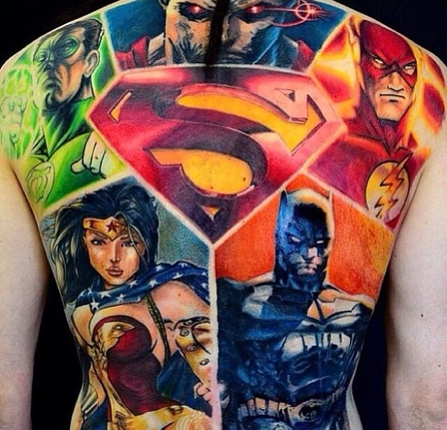 Super hero tattoo, This will be my sleeve one day