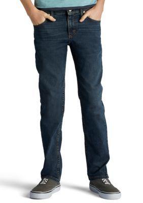 Lee Boys' Slim Fit Stretch Jeans Boys 8-20 - Warren - 12 Slim