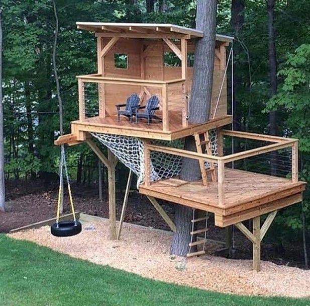Wood Pallet Projects Pallets Ideapallets Idea Tree House Diy