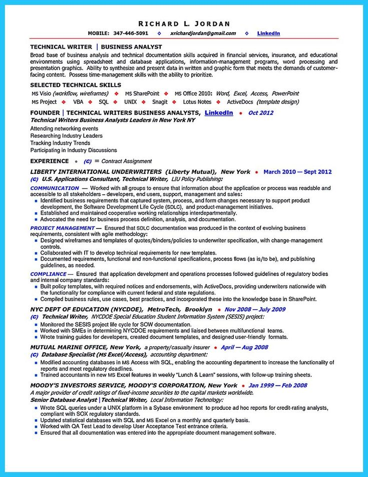 13065 best Business Analyst images on Pinterest Business analyst - sample of business analyst resume