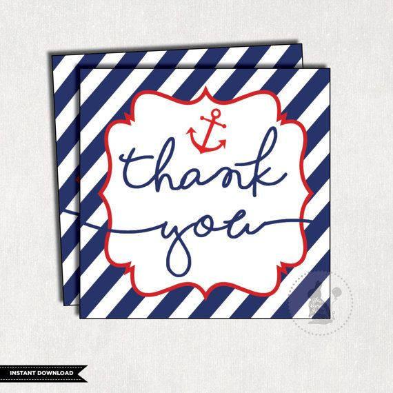NAUTICAL Favor Tags. Nautical Baby Shower. Anchor Baby Shower Favors. Navy  Gift Tags. Blue Nautical Thank You Tags. Navy And Red. NAU1
