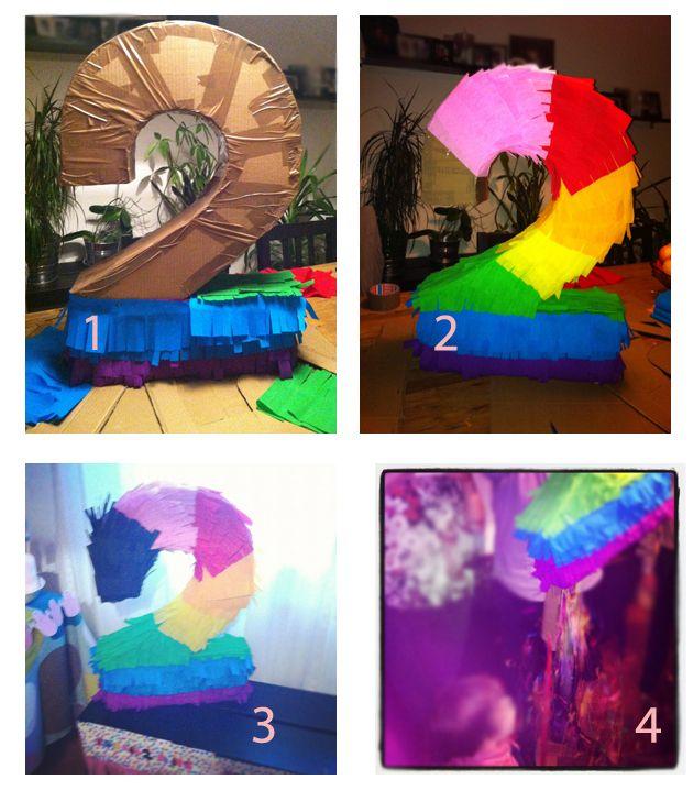 Barbapapa Party * DIY Pinata