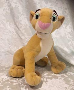 "Plush Nala Lion King Disney Stuffed Toy Animal Hasbro Large Size 20"" | eBay"