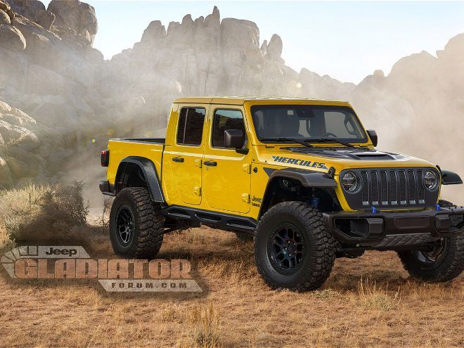 Is Jeep Working Up A Raptor Rivaling Gladiator Hercules Off