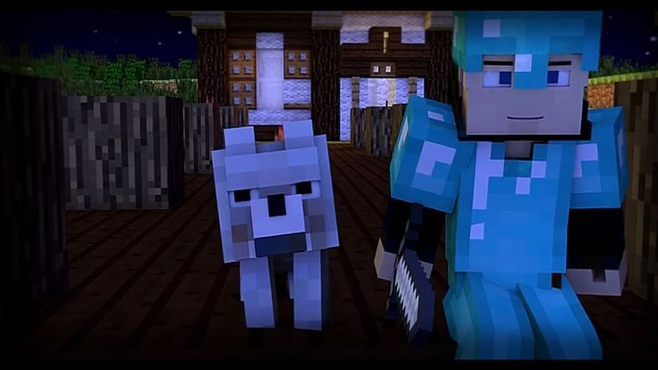 """♪ """"Zombies"""" - A Minecraft Parody of Blame By Calvin Harris (Music Video)"""