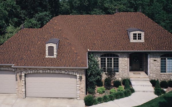 Best Tamko Heritage Autumn Brown Brown Roofs Shingle 400 x 300