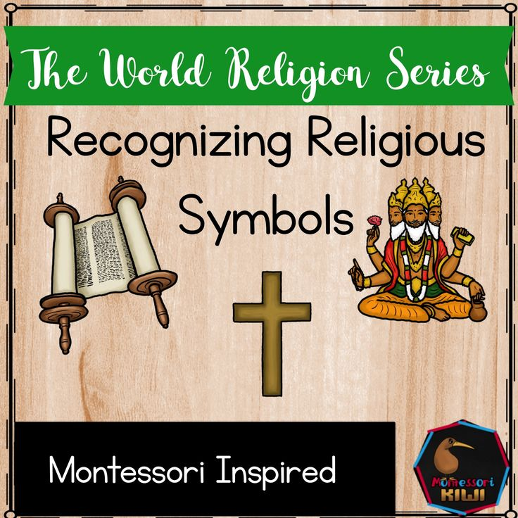 Recognising religious symbols, elements and features montessori inspired