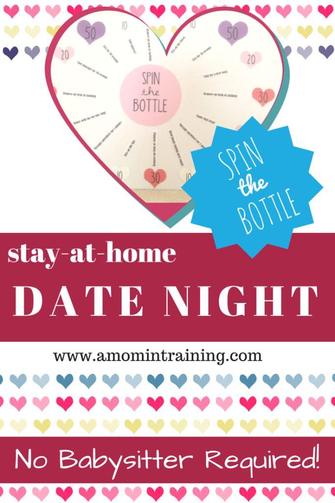 Stay At Home Date Night - Spin the Bottle