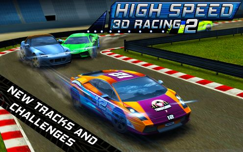 High Speed 3D Racing just got a major update: brand new garage, new driving physics engine and new effects.   Have you played it? If not, get it from here and have a nice gaming weekend!
