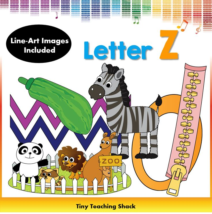 phonics clipart- beginning sound Z