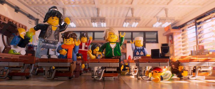 La Lego Ninjago Película nada es fabuloso