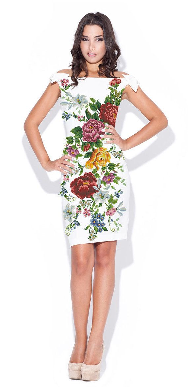 Ukrainian Handmade Beaded Dress / Seed Bead Embroidery / Handmade Vyshyvanka - XS, S, M, L, XL, 2-4XL - All Sizes!