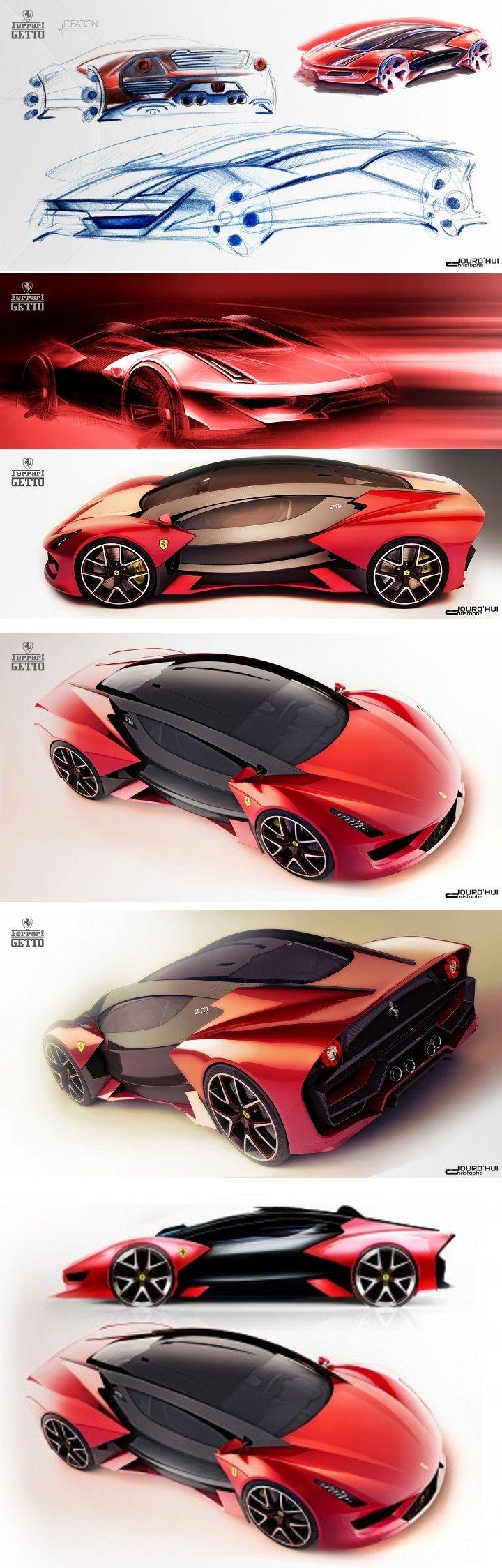 Ferrari Getto Concept Car