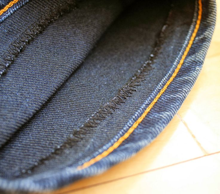 Running With Scissors: Tutorial: 2 ways to hem jeans keeping the original wash and/or stitching