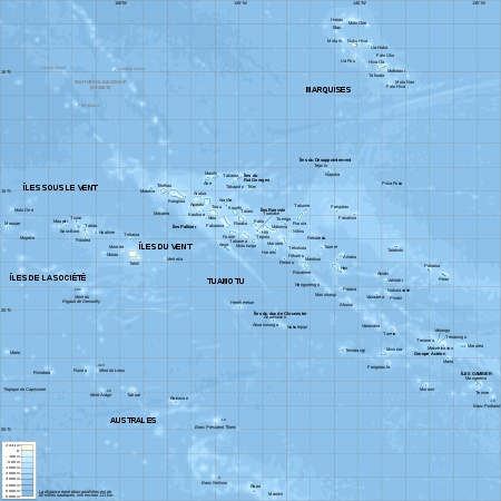 French Polynesia is made up of 118 microscopic islands spread out across the same surface as Western Europe