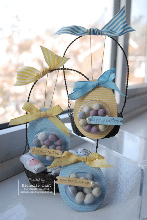 Easter goodies using Sweet Treat Cups from Stampin' Up! - Stampin Up Demonstrator Michelle Last