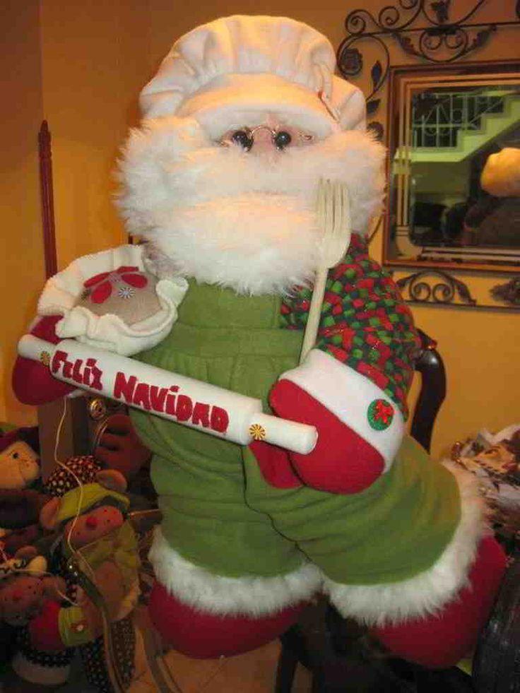 Papá Noel Cocinero navidad