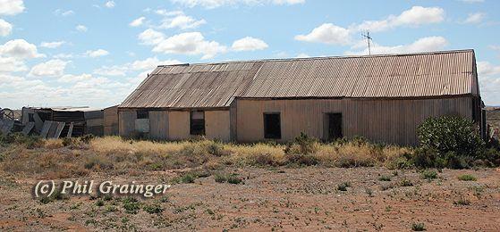 Abandoned farmhouse in Coburn, South Australia.