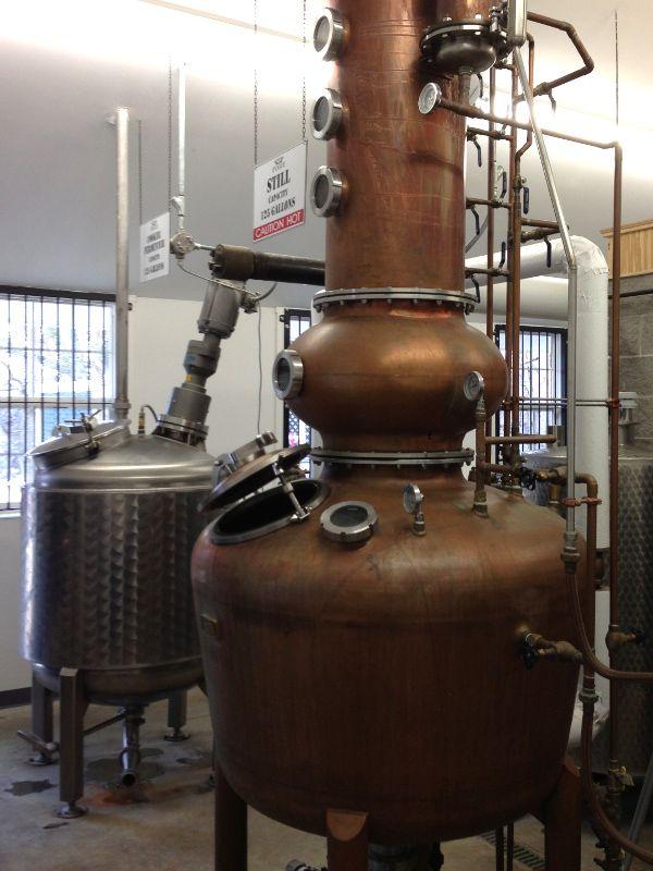 Pogue distillery still