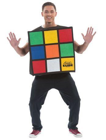 Déguisement Rubik's Cube  Fêtez les années 80 en mode Rubik's cube !