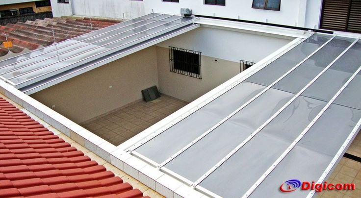 Garagem em policarbonato removivel