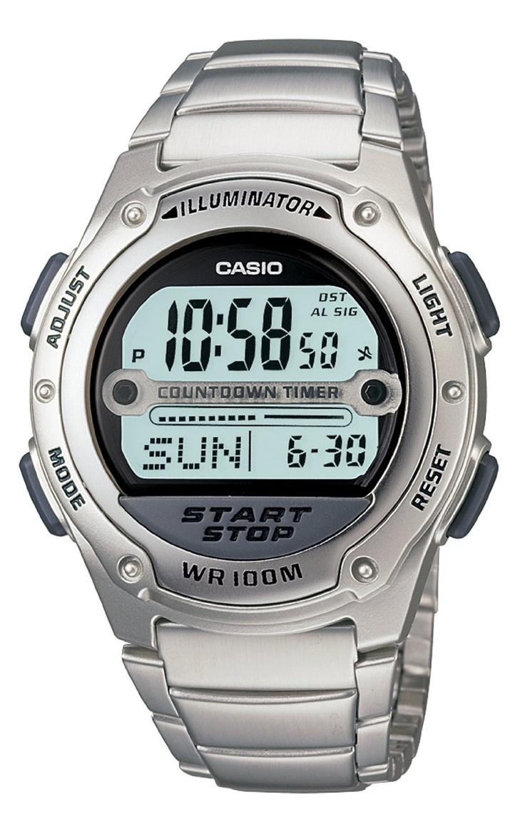 17 best images about casio skeleton watches blue casio men s w756d 7av digital sport watch