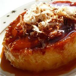 Pineapple Coconut Creme Caramel @ allrecipes.com.au