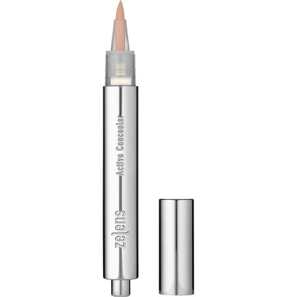 Zelens Women's Active Concealer 02: Medium ($62) ❤ liked on Polyvore featuring beauty products, makeup, face makeup, concealer, no color, dark circle concealer, zelens, moisturizing concealer, oil free concealer and hydrating concealer