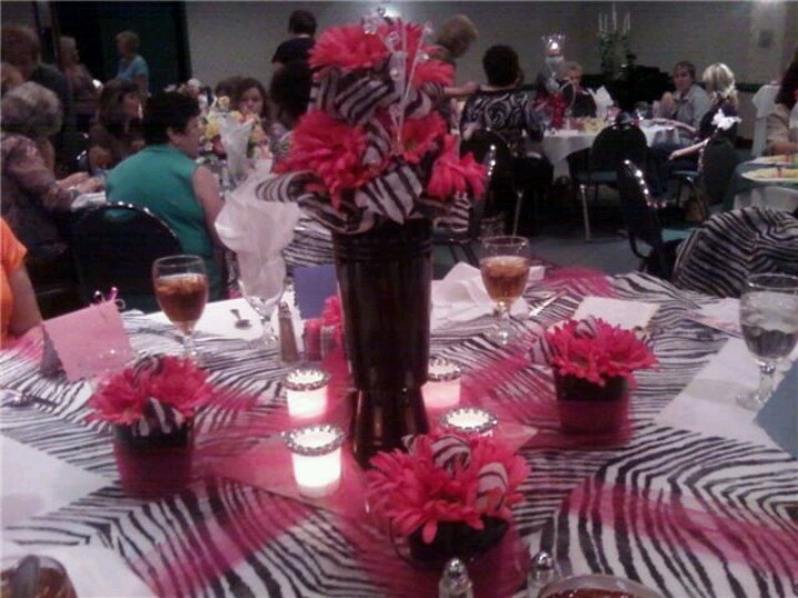 Terrific Decorating Ideas Zebra Print Birthday Party Pictures