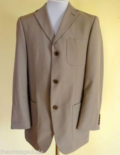 HUGO-BOSS-SUPER-120-FELLINI-MOVIE-Blazer-Mens-Jacket-CHEST-SIZE-37-3-Button