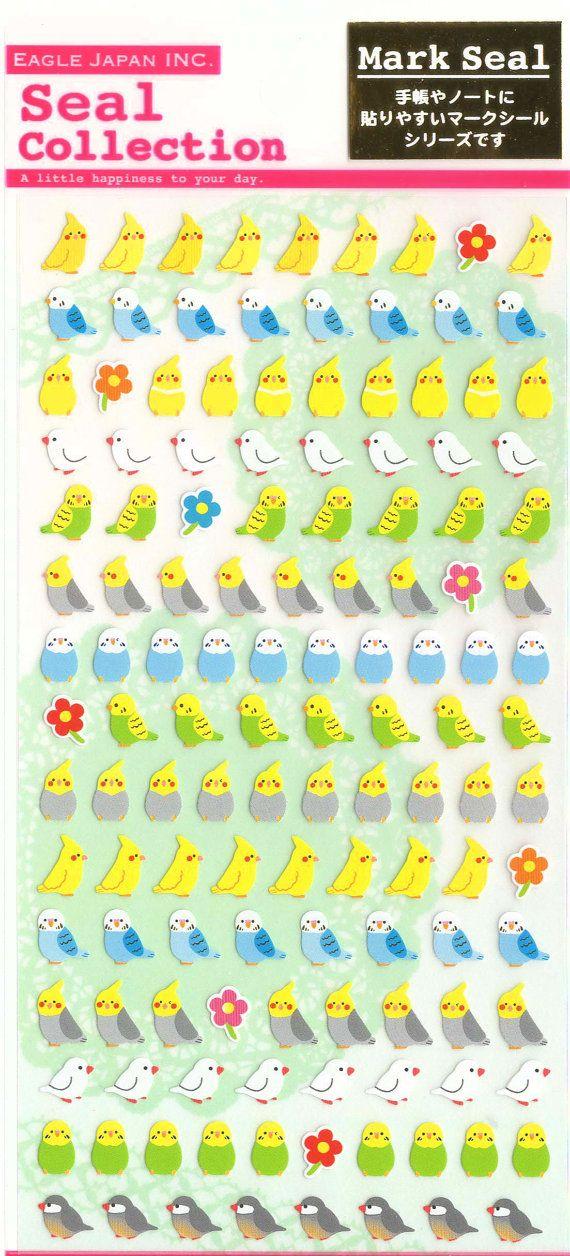 Kawaii Japan Sticker Sheet Assort: Cute Mini Point Small by mautio