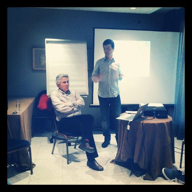 Ronda de presentacions #atgirona @do_sinergia @ Hotel Carlemany  Girona Photo by gemma_giro