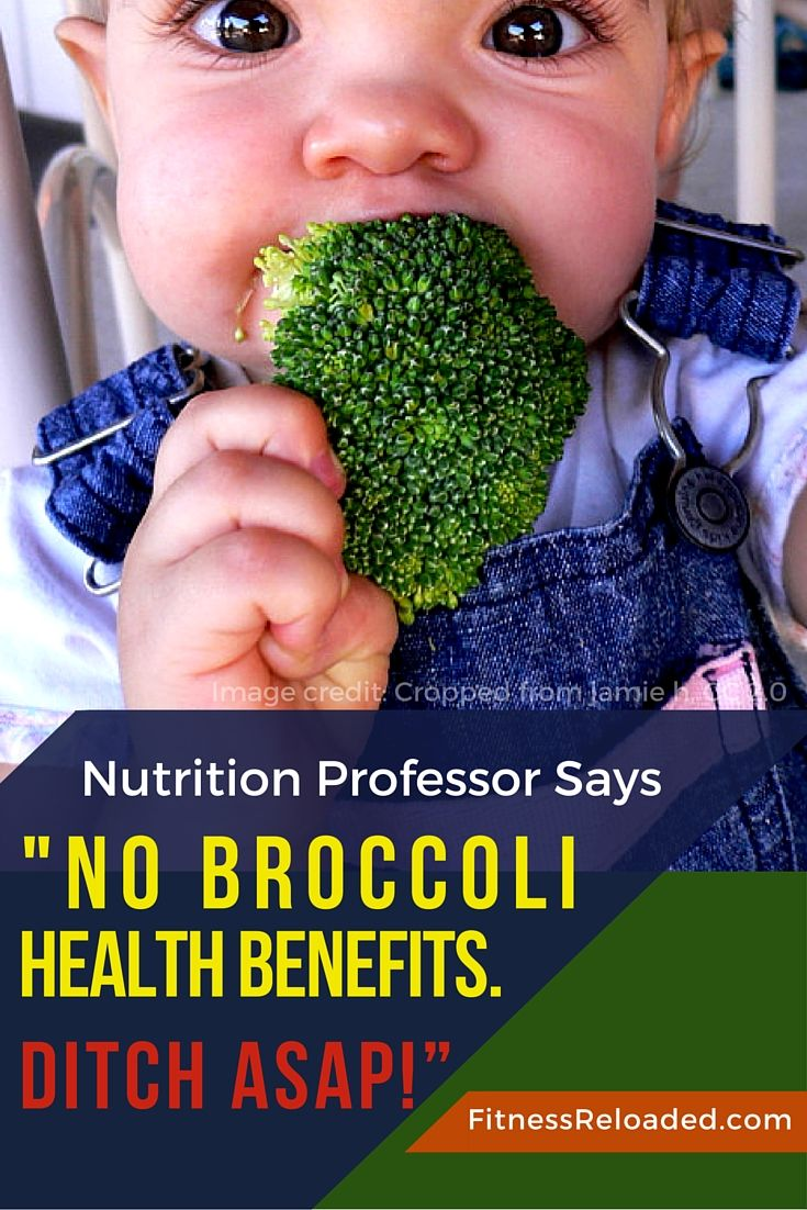 "Nutrition Professor Says ""No Broccoli Health Benefits. Ditch ASAP!"" And just when you thought that hardly any food could beat the broccoli health benefits, you learn that actually, no, broccoli is bad for you. Don't eat it! 