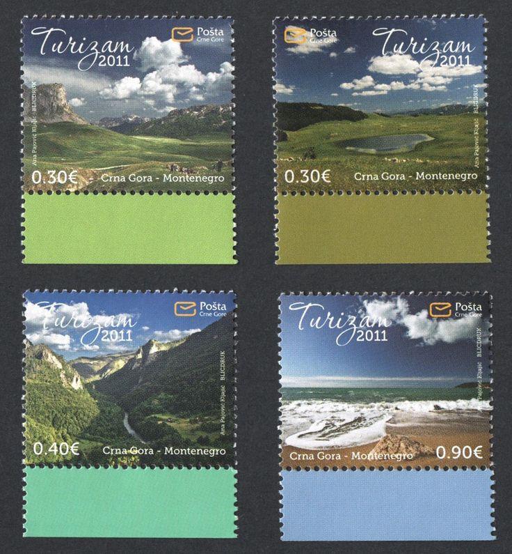 #279-282 Montenegro - Tourism, Set of 4 (MNH)