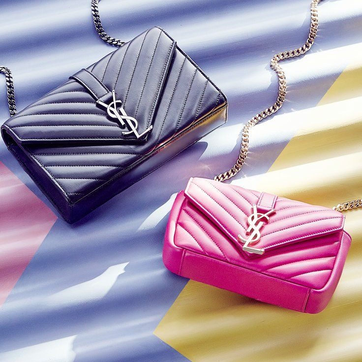 Start a chain reaction with Yves Saint Laurent.