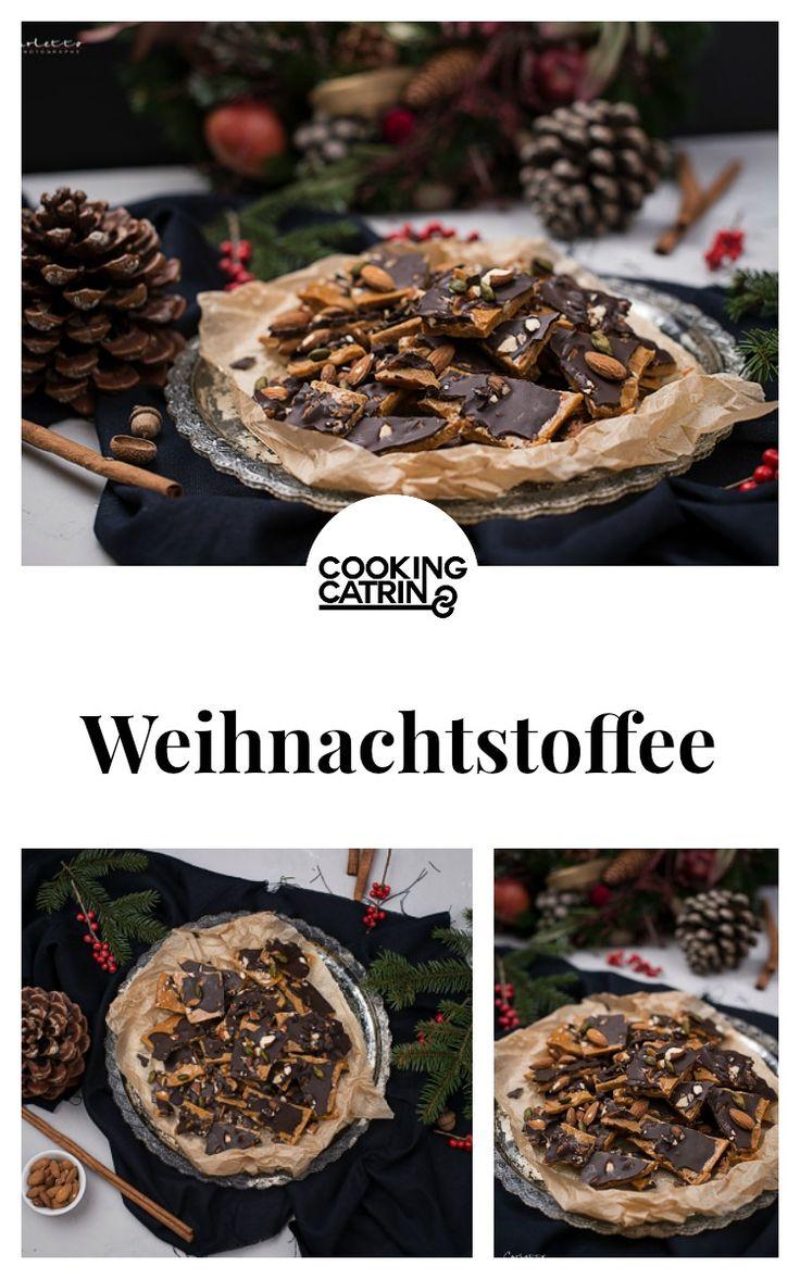 Weihnachten, Toffee, Schokolade, Karamell, Chocolate, caramel, weihnachtstoffee, sweets
