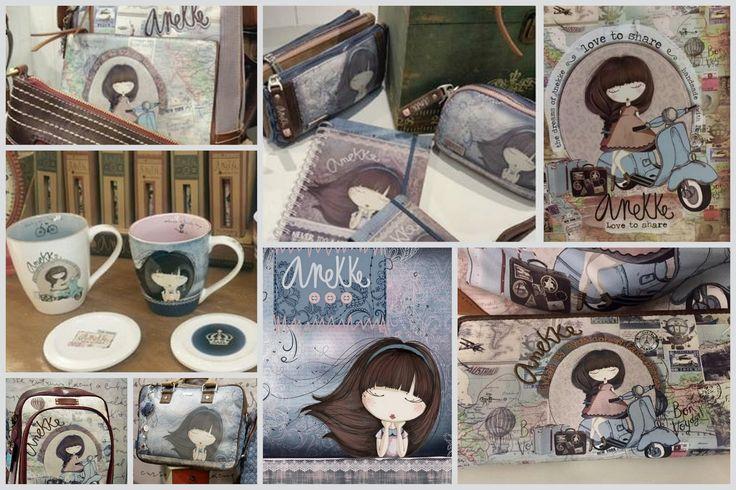 Nová kolekcia TRAVELLER & MOON španielskej značky ANEKKE <3   www.viridia.eu